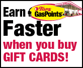 GasPoints Gift Cards