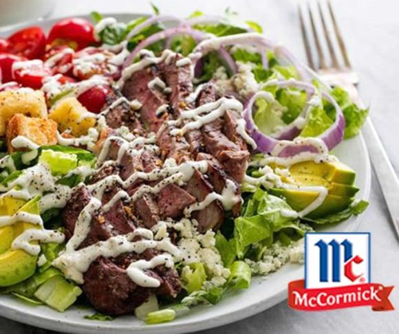 Black and Blue Grilled Steak Salad Recipe