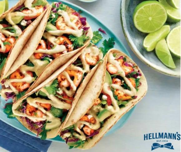 Cilantro Lime Shrimp Tacos Recipe