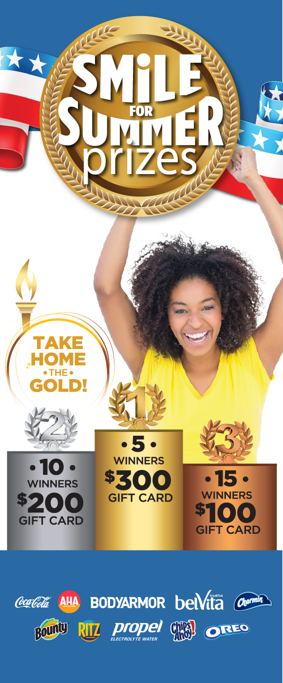 Take Home the Gold Sweepstakes