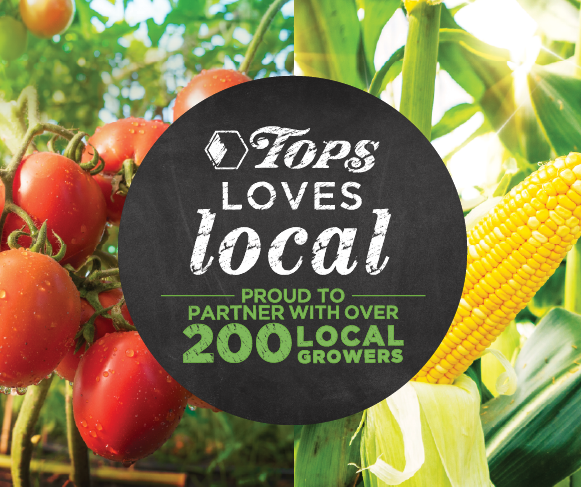 Tops Loves Local Homegrown