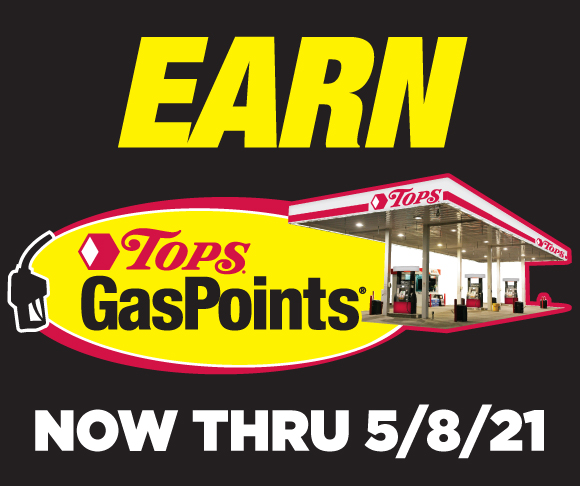 Earn Tops GasPoints through May 8 2021