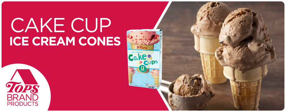 TOPS Brand Ice Cream Cones
