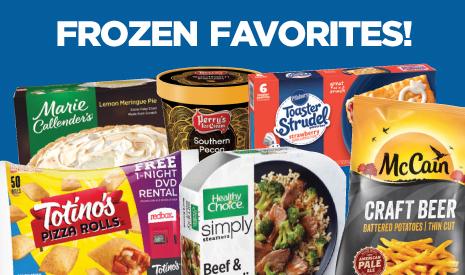 October is Frozen Food Month