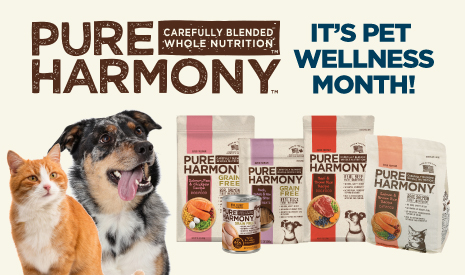 October is National Pet Wellness Month