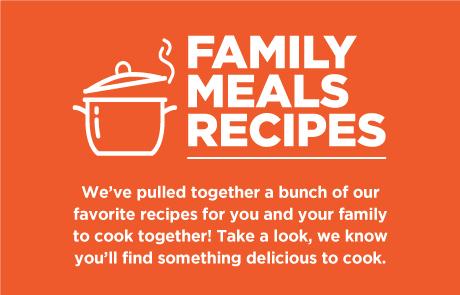 Family Meals Recipes