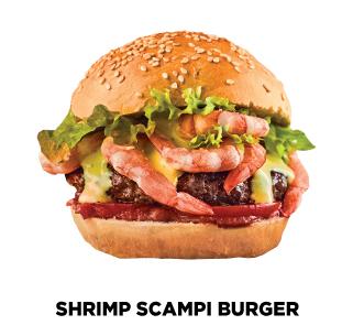 Shrimp Scampi Burger Recipe