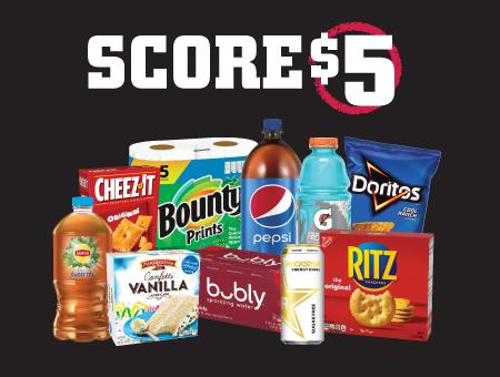 Tops Pick 'Em and Score $5' class=