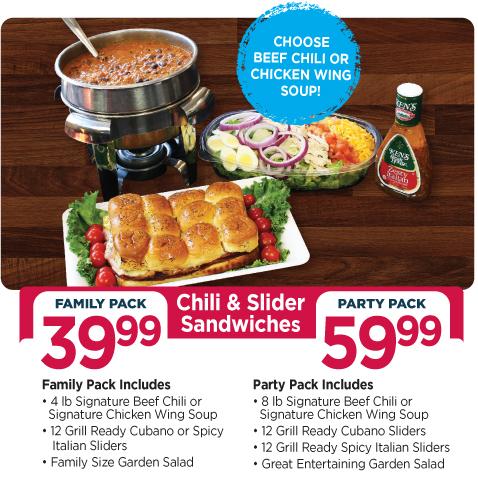 Chili & Slider Sandwiches