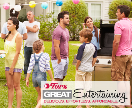 Tops Great Entertaining