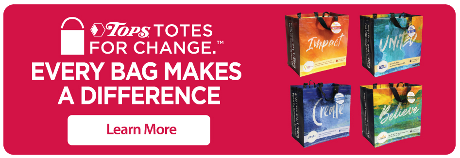 Tops Totes for Change